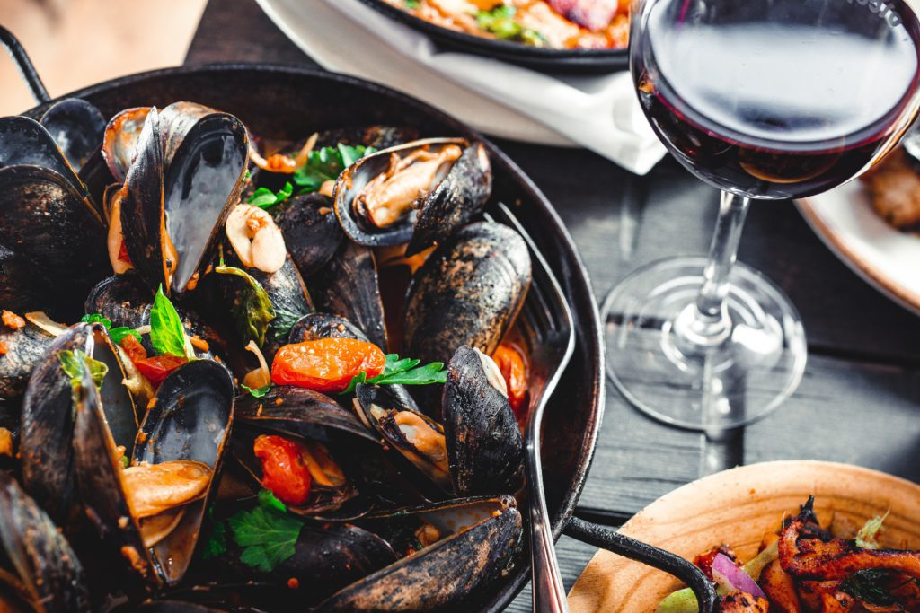 Mussels one seafood that causes gout attacks